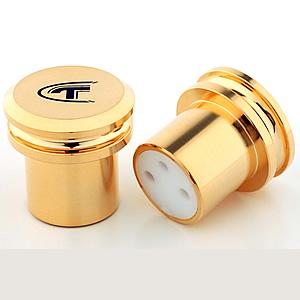 Telos Copper Gold-plated XLR Cap (Female)